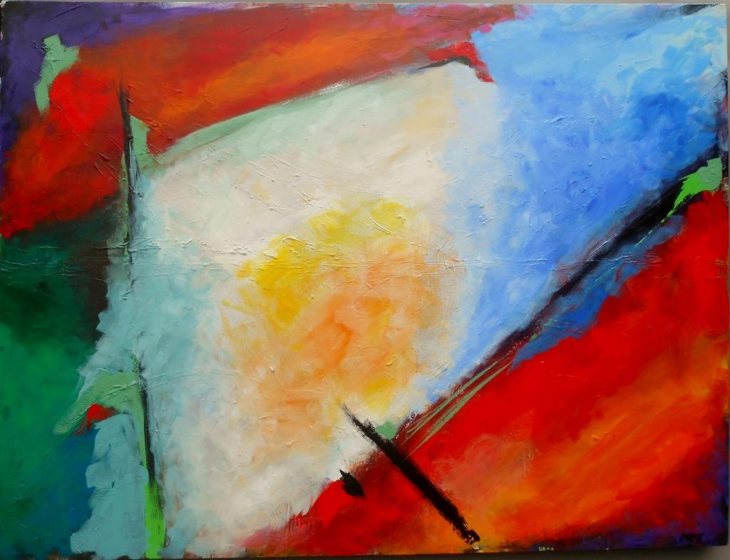 Acrylic, 36 x 48