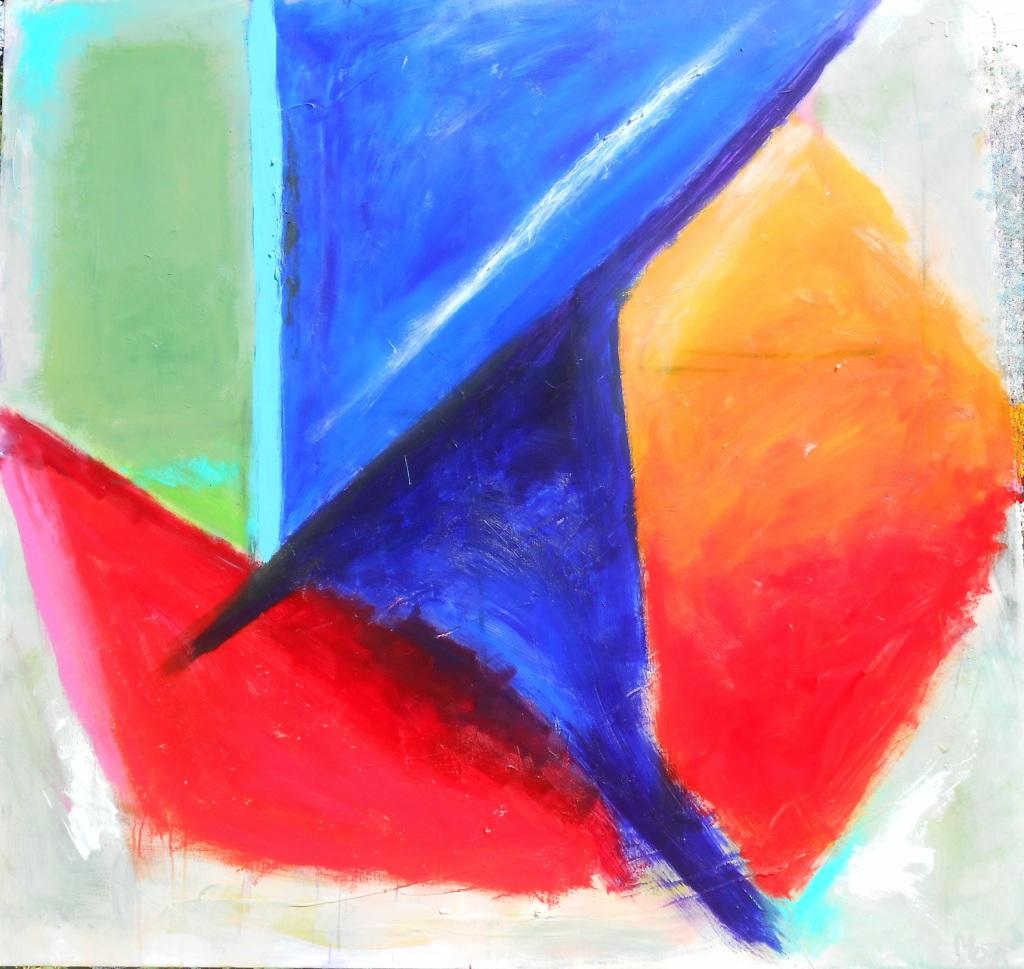 Acrylic,  48 x 48
