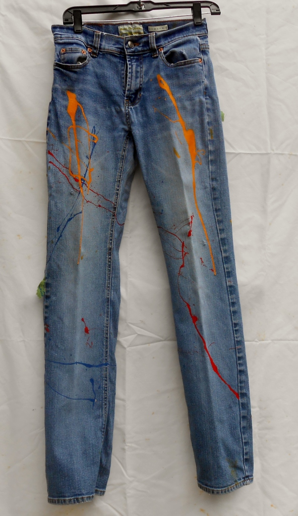 Painted Jeans, Front
